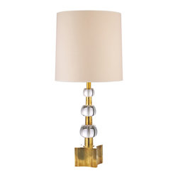 Hudson Valley Lighting - Hudson Valley Lighting L125-AGB Kentfield Aged Brass Table Lamp - Hudson Valley Lighting L125-AGB Kentfield Aged Brass Table Lamp