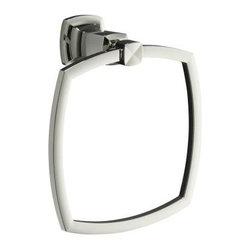 KOHLER - KOHLER K-16254-SN Margaux Towel Ring - KOHLER K-16254-SN Margaux Towel Ring in Polished Nickel