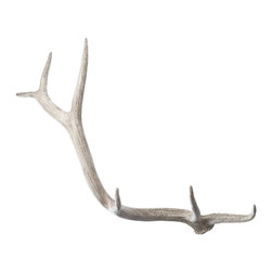 Lazy Susan - Weathered Resin Elk Antler - -Handcrafted