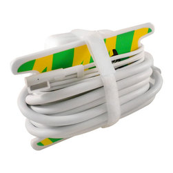 Plug Hugger - Plug Hugger Cord Manager and Organizer - Keep cords neat and tidy with this handy cord organizer. Great for laptop chargers, gaming systems, cell phones or any other items with excess cord, these organizers are available in a variety of sizes and colors to coordinate with your decor.