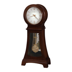 Howard Miller - Howard Miller Gerhard 84th Anniversary Edition Mantel Clock in Chocolate - Howard Miller - Mantel / Table Clocks - 635164 - For over 70 years Howard Miller has understood the need to create products that are steeped in quality and value and to never expect anything less than the best. No matter the price of the purchase you have Howard Miller's assurance of quality that is reflected in both the products they create and in the people whose artistic talents they rely on to manufacture them. Incomparable workmanship. Unsurpassed quality. A quest for perfection.