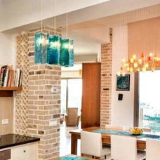 tropical pendant lighting by Galilee Lighting