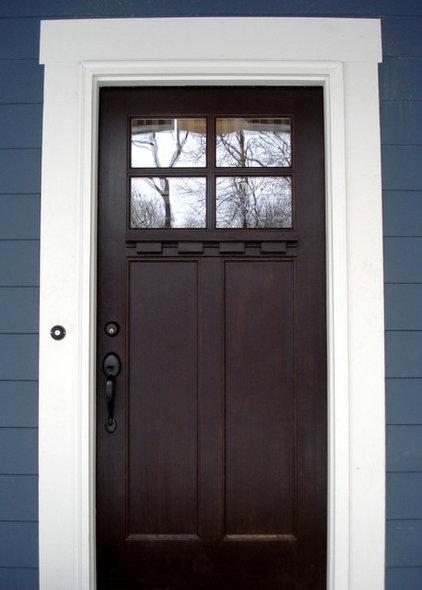 Traditional Front Doors by Hiday Custom Builders, LLC