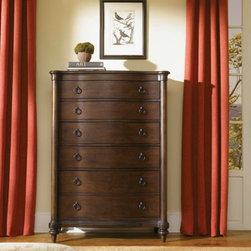 Aspenhome - 5 Drawer Storage Chest with 2 Pull Out Coat Hooks -