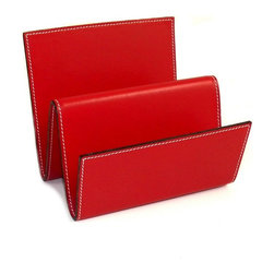 Bey-Berk - Bey-Berk D1616 Letter Rack - Red Leather - D1616 - Shop for Desk and Drawer Organizers from Hayneedle.com! About Bey-Berk InternationalFor more than 20 years Bey-Berk International has crafted and hand-selected unique gifts and accessories from around the world to meet the demands of discerning customers. With its line of elegant and distinctive products Bey-Berk has established itself as a leader in luxury accessories.