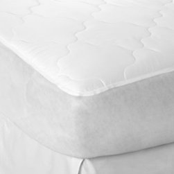 Therapedic - Therapedic 250 Waterproof 100% Cotton Mattress Pad - Waterproof mattress pad is a great way to protect your bed. It features Puresleep Advanced Technology which releases and repels stains as well as eliminates odors in the mattress pad.