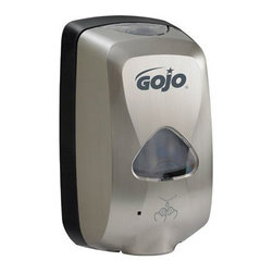 GO-JO INDUSTRIES - GOJO TFX TOUCH-FREE DISPBRUSHED METALLIC, 12/CS - CAT: Skin Care & Personal Hygiene Soaps & Dispensers Liquid Soap Dispensers