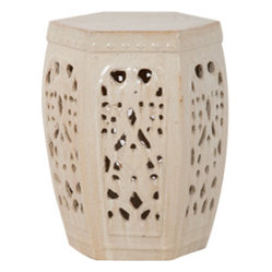 Lattice Stool, Champagne