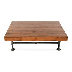 Custom coffee tables - Hangar Joist Coffee Table