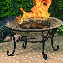 CobraCo - CobraCo Brick Finish Cast Iron Fire Pit with FREE Cover Multicolor - FB6102 - Shop for Fire Pits and Fireplaces from Hayneedle.com! The CobraCo Brick Finish Cast Iron Fire Pit is heavy but it looks even heavier. The 30-inch cast iron firebowl is outfitted with a unique antiqued brick finish that looks hand-built and transported from another era. This naturally weather- and fireproof bowl sits in an all-metal powder-coated frame with elegantly scrolling legs and comes complete with a full-coverage dome spark guard and protective vinyl cover with elastic stretch band.About Woodstream and CobraCoA privately held company with a long-standing positive reputation Woodstream is a global manufacturer and marketer of quality products from pets and wildlife control and home and garden products to bird feeders and garden decor. They have a 150-year history of excellence growth and innovation and have built a strong presence in key markets through organic growth and strategic acquisitions.Most recently Woodstream acquired CobraCo which offers an extensive line of planters baskets flower boxes and accessories. The growth of Woodstream is thanks to their customer-driven approach to product development a dedicated design organization that focuses on innovation quality and safety as well as a commitment to an industry-leading level of service.