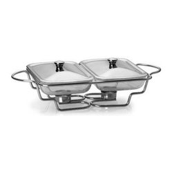 Double 1.5 Qt. Oblong Warming Set