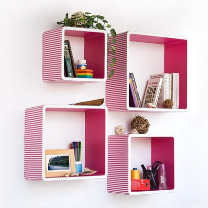 contemporary wall shelves by Amazon