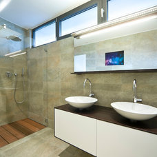 Contemporary Bathroom Mirrors by Archetype Inc.