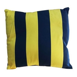"Handcrafted Model Ships - Nautical Flag Letter G Pillow 15"" - Beach Theme Pillow - This Letter G Nautical Alphabet Pillow 15"" combines comfort and the highly popular nautical letter design on our decorative pillow. Ideal for those looking to accent their home with a decorative nautical theme, place this pillow in your home to show guests your affinity for the nautical lifestyle."