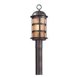 Troy Lighting - Troy Lighting P9252NB Aspen 1lt Post Lantern - Troy Lighting P9252NB Aspen 1lt Post Lantern