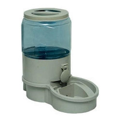 Autopetfeeder - Filtered Pet Waterer - Small - We all love our pets but with our busy schedules we often find it difficult to take care of them. The Filtered Pet Waterer is the perfect solution to make sure that your pets are well hydrated and healthy. The Waterer offers pet owners the opportunity to provide crystal clear oxygenated drinking water for their pets.