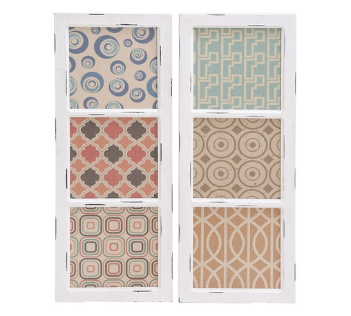 Benzara - Stylish Classic Customary Styled Fancy Wood Wall Panel 2 Assorted Home Decor - Stylish and classic inspired customary styled fancy wood wall panel 2 assorted living and family room home accent decor
