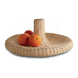 """the VIME by Alessi at Stardust - Alessi Vime from Stardust.com.  """"Vime"""" (from the Latin vimen) is the Portuguese translation of cane, rattan in English. A material that has been used since ancient times for making furniture and baskets, it has now been taken over by the Campana brothers for a collection of objects which bring a nice touch to any kitchen or dining table.   Available from Stardust.com"""