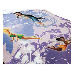 Franco Manufacturing Company Inc - Disney Fairies Swirl Twirl Butterfly Twin Bed Comforter - Features:
