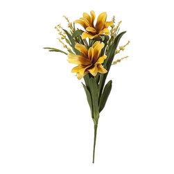 """IMAX - Essentials Mellow Yellow Floral Bundle - Add a color coordinated organic boost to your decor with our beautiful floral arrangement, part of the Mellow Yellow collection from Essentials by Connie Post. Item Dimensions: (31.5""""h x 11.80""""w x 5.90"""")"""
