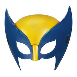 KOOLEKOO - Wolverine Hero Mask - Hugh Jackman is back as Wolverine in The Wolverine movie, so it's time to dress up like the original comic hero with this awesome mask! It fits right on your head and gives you the yellow look you've been itching to try out. This mask measures about 8-inches tall.