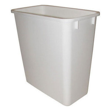 """Rev-A-Shelf - Rev-A-Shelf RV-20-6 20 Qt. Replacement Waste Bin - White - In need of a replacement 20 Quart garbage can? This Rev-A-Shelf RV-20-6 20 Quart Waste Bin in White can be used as a replacement for the RV-8 & RV-14 Series or can be used as a stand alone garbage can. Physical Specifications: 8-3/8"""" W x 14-1/4"""" D x 15"""" H. Lids Sold Separately."""