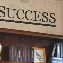 Decals for the Wall - Wall Decal Quote Sticker Vinyl Art Lettering Decorative Removable Success IN26 - This decal says ''Success''