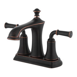 YOSEMITE HOME DECOR - Two Handle, 4 inch center set Lavatory Faucet  with Popup Drain Included - Compact, space efficient and stylish in look, the YPH18280 series from Yosemite features two-handle, 4 inch  center set Lavatory Faucets in polished chrome, brushed nickel, and oil rubbed bronzed finish. The faucets are deck-mounted, the handles are located on both sides of the faucet, the valves are made up of brass, and it needs 3 holes for installation. Specifications: water flow rate is 0.8 GPM;  100% Pressure System Tested 700kPa - 1200kPa; stand height is 7 inches; spout height is 4 inches;  spout reach is  5 inches;  ADA, cUPC, NSF,  AB1953 compliant; This faucet requires low maintenance and is easy to clean.  Popup drain included
