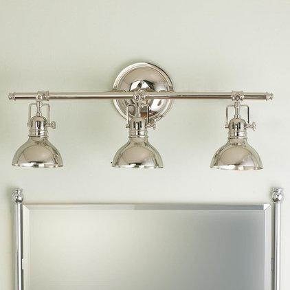 Lamp Shades Pullman Bath Light - 3 Light (2 Finishes!)