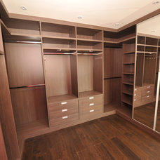 Contemporary Closet by Grand Design London