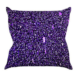 "Kess InHouse - Maynard Logan ""Purple Dots"" Throw Pillow (20"" x 20"") - Rest among the art you love. Transform your hang out room into a hip gallery, that's also comfortable. With this pillow you can create an environment that reflects your unique style. It's amazing what a throw pillow can do to complete a room. (Kess InHouse is not responsible for pillow fighting that may occur as the result of creative stimulation)."