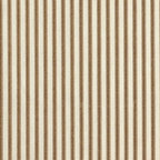 Close to Custom Linens - Large Neckroll Pillow Suede Brown Ticking Stripe and Gingham - A charming traditional ticking stripe in suede brown on a cream background. This large neck roll pillow is 16 inches x 7 inches and has self-covered cording trim that adds the finishing touch.