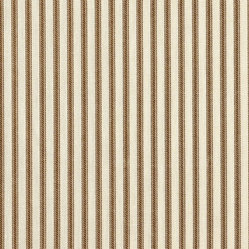 Close to Custom Linens - Large Neckroll Pillow Suede Brown Ticking Stripe - A charming traditional ticking stripe in suede brown on a cream background. This large neckroll pillow is 16 inches X 7 inches and has self-covered cording trim that adds the finishing touch.
