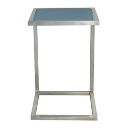 Lloyd Flanders - Lloyd Flanders Elements Small End Table - 203316. - Shop for Tables from Hayneedle.com! If misplacing personal items is annoying inside the home it's downright scary when entertaining outside; but the Lloyd Flanders Elements Small End Table gives you someplace to keep all your pocket contents so you can be sure they won't get chewed up by the lawn mower or ruined by the rain before they're recovered. This convenient end table is small enough to move around to be placed wherever it's most needed without getting in the way. This mobility also makes it a tremendous side table for drinks while entertaining. And because it has sturdy wrap-around-style legs it can easily sit in front of you while using your laptop computer making a to-do list or filling out a calendar or planner. Its stainless steel construction makes it an ideal piece of outdoor furniture because there is no maintenance or upkeep required no matter what whether might come your way.About Lloyd/FlandersCarrying on the traditions of Marshall B. Lloyd Lloyd/Flanders brings the sophistication of timeless furniture designs to a sophisticated modern audience. Using modern production processes and materials these classic styles are faithfully rendered in a way that can be enjoyed by customers anywhere with high-quality construction and reliable all-weather designs.