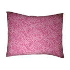 SheetWorld - SheetWorld Twin Pillow Case - Percale Pillow Case - Pink Floral - Made in USA - Pillow case is made of a durable all cotton percale material. Fits a standard twin size pillow. Features a Pink Floral print.