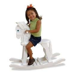 KidKraft - Derby Rocking Horse, White by Kidkraft - Our Derby Rocking Horse would make a great gift for the young cowboys and cowgirls in your life. Sorry, ten-gallon hats and lassos not included.
