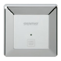 Steamist - SMC-120 On/Off with Preset Timer - ORB - The new SMC-120 provides an auxilary On Off function. Use only in conjunction with the SMC-150. Mounts outside the steam room.Two years parts warranty Preset Timer with LED Indicator The SMC-120 comes complete with 25 ft, multi-conductor cable, 6-pin coupler, splitter, Strain Relief Clamp, Installation and Operating InstructionsDimensions: 3-2 3 x 3-2 3