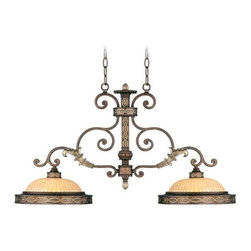Livex Lighting - Livex Lighting-8522-64-Seville - Two Light Island Chandelier - Height: 20""