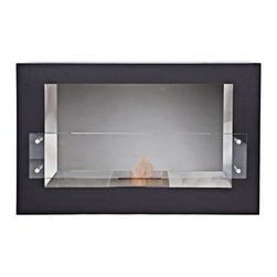 Bioflame Argento Single Sided 15500BTU Freestanding Fireplace - Features: - 15,500BTU - 4.5Kw/h (heats on average 58m2 or 624ft2) - Stainless Steel Firebox Construction - High Polished Stainless Steel On Internal Box - 5.0L Burner - 10mm Tempered Glass3298aFuelWant to know something sweet about the ethanol fuel used in Bio Flame fireplaces? It's all based on sugars!That's right, the Bio Flame ethanol fuel is so environmentally friendly that it is created through a fermentation process of sugars, including those from sugar cane, corn, beets, and potatoes. These natural, all-reable resources work together to create an ethanol fuel source that provides not only heat, but a beautiful, dancing flame, as well.Some of the additional benefits of using the Bio Flame ethanol fuel include:Environmentally friendly. Ethanol fuel is all-natural and made from reable resources. This means that you are not cutting down valuable trees that take much longer to regenerate.Better breathing. There is no air pollution with the Bio Flame ethanol fuel. This means that you, as well as everyone else, help to keep chemicals and toxins from being released into the air. You will breathe better in your home, and everyone else benefits from the reduction of pollutants, as well. There's no odor or smoke to worry about, either, providing you with a safe flame.Cleaner source. Ethanol fuel creates a clean heat source, eliminating the need to worry about cleaning soot or ash. Cleaning the Bio Flame fireplace is a breeze.Super simple. The ethanol fuel used in the Bio Flame fireplace is simple to use. Within seconds, you will have it refilled, never having to worry about spills or trekking out into the cold weather for another log.The Bio Flame environmentally friendly fireplaces use ethanol fuel, because it provides a better heat choice for you, and for everyone else. You never compromise on having a beautiful-looking fireplace, warmth, and a beautiful flame. Ethanol fuel provides all the things you wan