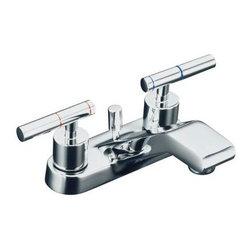 KOHLER - KOHLER K-8201-4-CP Taboret Centerset Lavatory Faucet with Lever Handles - KOHLER K-8201-4-CP Taboret Centerset Lavatory Faucet with Lever Handles in Chrome