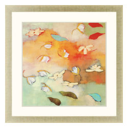 Paragon - Floating World II - Framed Art - Each product is custom made upon order so there might be small variations from the picture displayed. No two pieces are exactly alike.