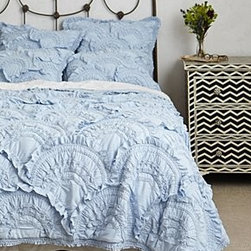 Anthropologie - Rivulets Quilt - CottonDry cleanImported