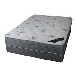 Therapedic - Extra Plush Prism Elite Therapedic Mattress, Twin Size - Foam Encased Edge Support System For Edge-to-edge Comfort and Support