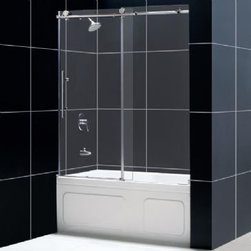 DreamLine - DreamLine X Sliding Tub Door - SHDR-61606210-08 - X Sliding Tub Door