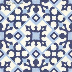 Contemporary Cement Tile - Victorian Cement Tile from Cement Tile Shop