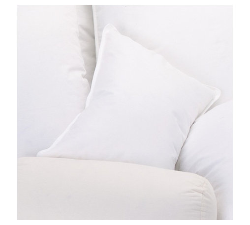 Ogallala Comfort Company - Ogallala Comfort Company 800 Hypo-Blend Boudoir Pillow - Decorative pillows add luxury and comfort to your home. Sink in, relax and enjoy your surroundings, anywhere you are. This Hypodown blend is four parts white goose down and one part Syriaca clusters, a fiber from the milkweed plant. The two work hand in hand to give you the best of their natural abilities: warmth and comfort. Down clusters are the soft fluff under feathers that keep birds comfortable no matter what the climate. In order to measure nature's performance, down is rated by two distinct values, Percent Down Cluster and Fill Power.