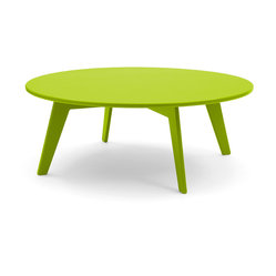 Loll Designs - Lollygagger Coffee Table, Leaf Green - This spacious outdoor table serves as a convenient place for guests to gather around. Even if you're embracing a lazy afternoon al fresco, there's plenty of room to hold lunch, while perusing through your favorite magazines.