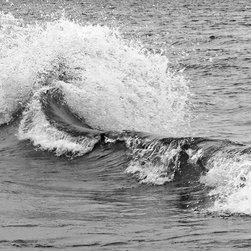Photography - Lake Michigan waters and waves in black and white.  Perfect for your wall in your home or office.