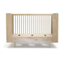 Spot on Square - Ulm Daybed Crib Conversion Kit - Birch - Spot on Square - Conversion Kit Only - Does not Include Crib.