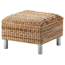 modern ottomans and cubes by IKEA